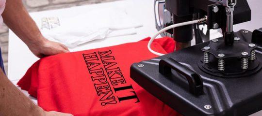 Impression et Personnalisation des t-shirts